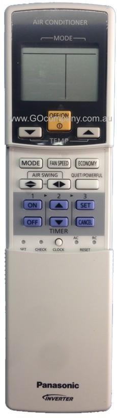 A75C3435 Genuine Original PANASONIC Air Conditioner Remote Control  CWA75C3435