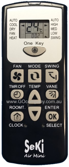 UNIVERSAL AIR CONDITIONER REMOTE CONTROL MINI FOR ALL MIDEA